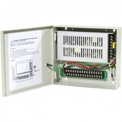 Alimentation professionnelle 12 volts - 10 amp - 8 sorties