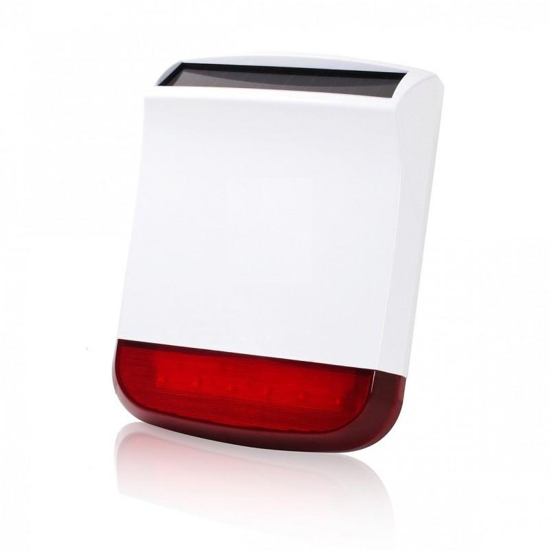 sir ne flash solaire ext rieur accessoire alarme mfprotect protect area. Black Bedroom Furniture Sets. Home Design Ideas