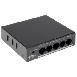 Switch POE 5 ports (4+1)